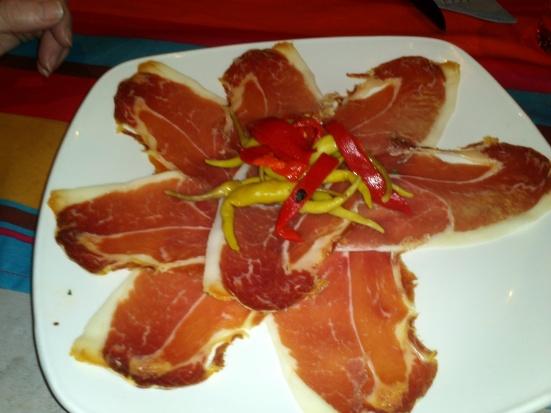 Assiette de Jambon Serrano