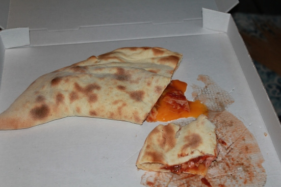 Pizza Calzone du Cigalon restaurant à Capbreton