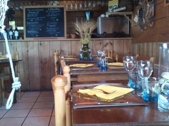 Intérieur restaurant  la Chaloupe à Capbreton