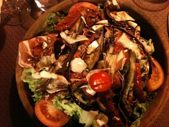 Salade Joub au restaurant Papa Joub à Capbreton