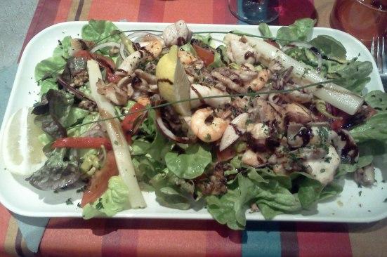 Salade océane Otxoko à Capbreton