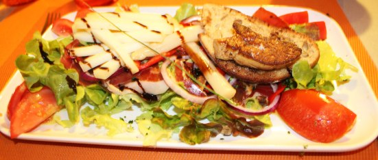 Salade Otxoko à Capbreton