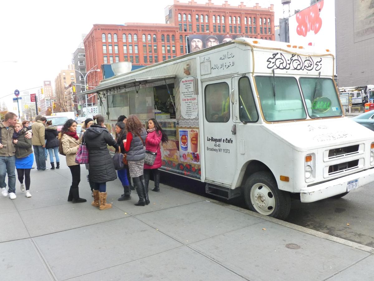 La Baguette Café Food Truck NYC