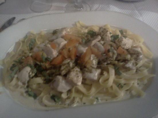 Tagliatelle Poulet Gorgonzola de Pastissimo Capbreton