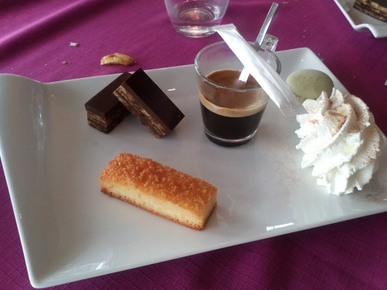 Cafe gourmand Restaurant Estacade Capbreton