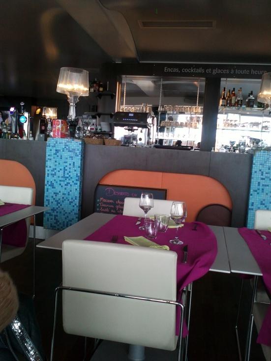 La Salle du Restaurant Estacade (Casino) Capbreton