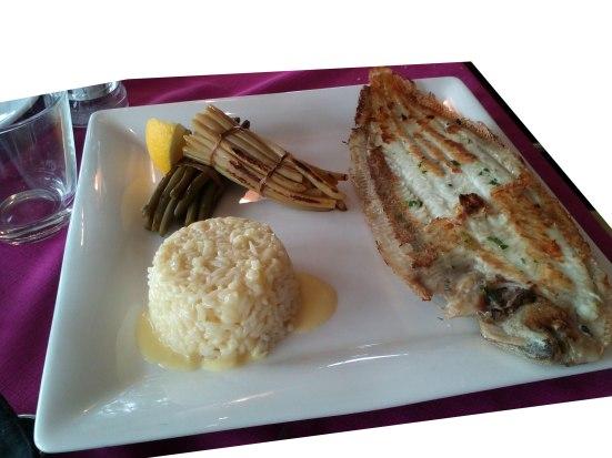Sole meuniere Restaurant Estacade capbreton