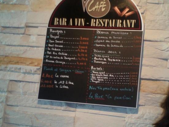 Bar à vin restaurant le Vintage à Hossegor