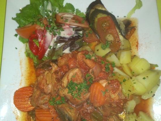 Sauté de Dinde + Légumes Vintage à Hossegor