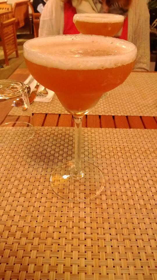 Cocktail maison Thai Landais à Capbreton