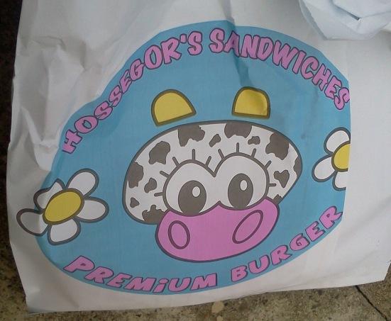 Logo Hossegor Sandwich