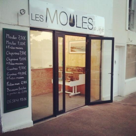 Les Moules à Jéjé restaurant en centre ville de Capbreton