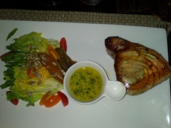 Pavé de Thon Restaurant Thai Landais à Capbreton