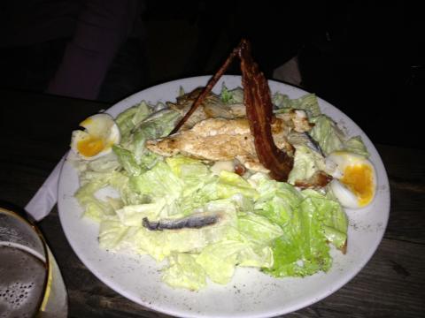 Salade César Cream Café Seignosse