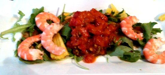 Tartare Crevettes et Tomates Regalty à Capbreton