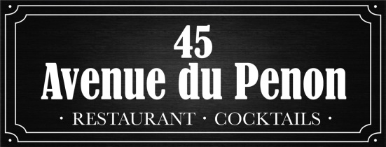 Welcome to 45 Avenue du Penon, Restaurant Cocktails à Seignosse