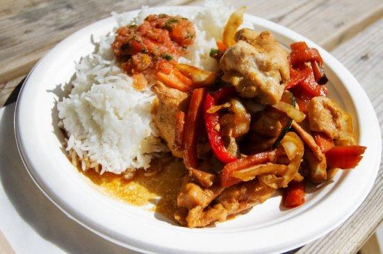 Poulet Teriyaki au restaurant 45 avenue du Penon à Seignosse