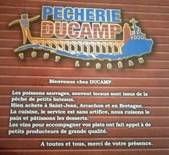 Logo Pêcherie Ducamp à Capbreton