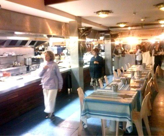 Marché au Poisson au restaurant la Pêcherie à Capbreton