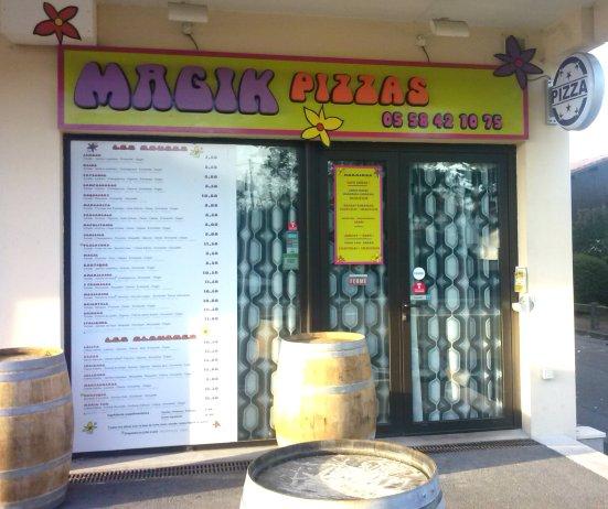 Magik Pizza à Capbreton