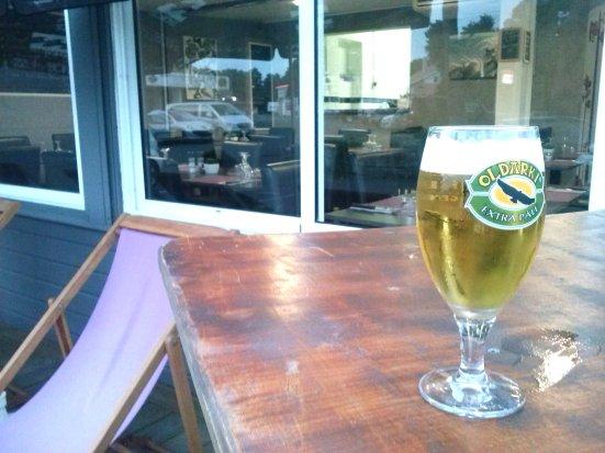 Bière Oldarki à l'Art Doiz Capbreton