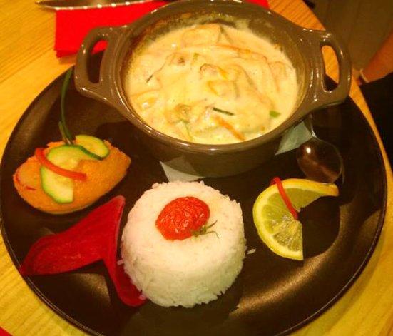 Cassolette de poissons du restaurant O'petits Oignons à Capbreton