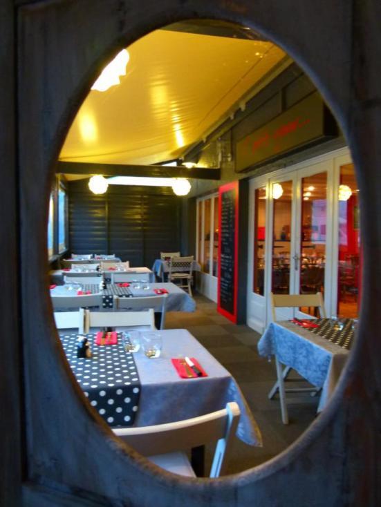 terrasse couverte O'petits Oignons Restaurant Capbreton