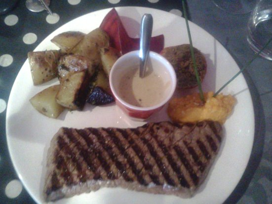 La pièce du boucher O'petits Oignons Restaurant Capbreton