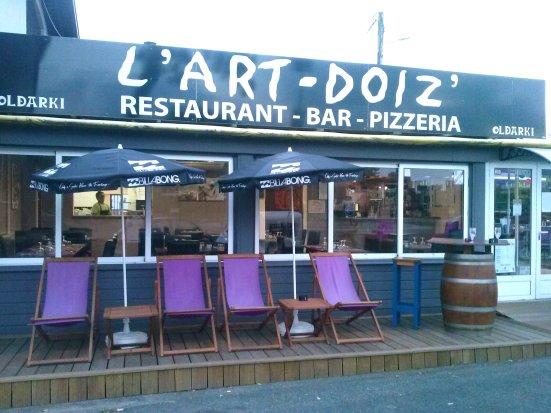 L'Art Doiz Restaurant à Capbreton