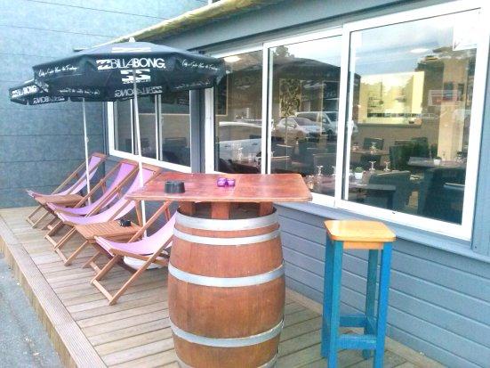 Restaurant Lart-Doiz et sa terrasse à Capbreton