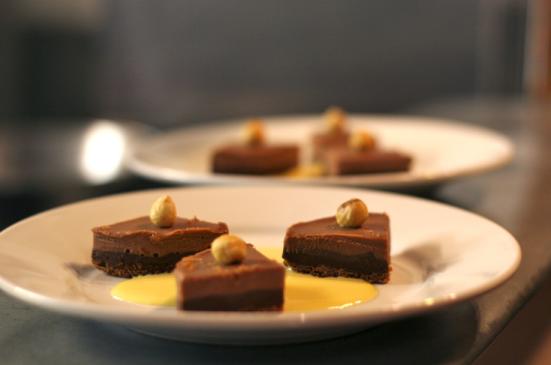 tartes au chocolat - Restaurant le Fou à Pieds Rouges à Capbreton