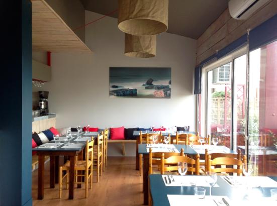 Restaurant le Fou à Pieds Rouges à Capbreton