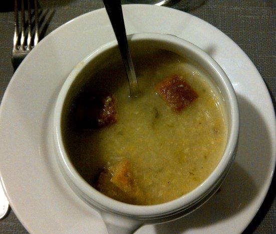 Soupe Du Restaurant le Fou à Pieds Rouges à Capbreton