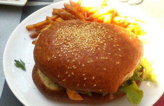 burger feeling restaurant concept store à hossegor
