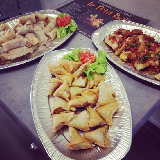 Nems & Samosas le petit bali restaurant à capbreton