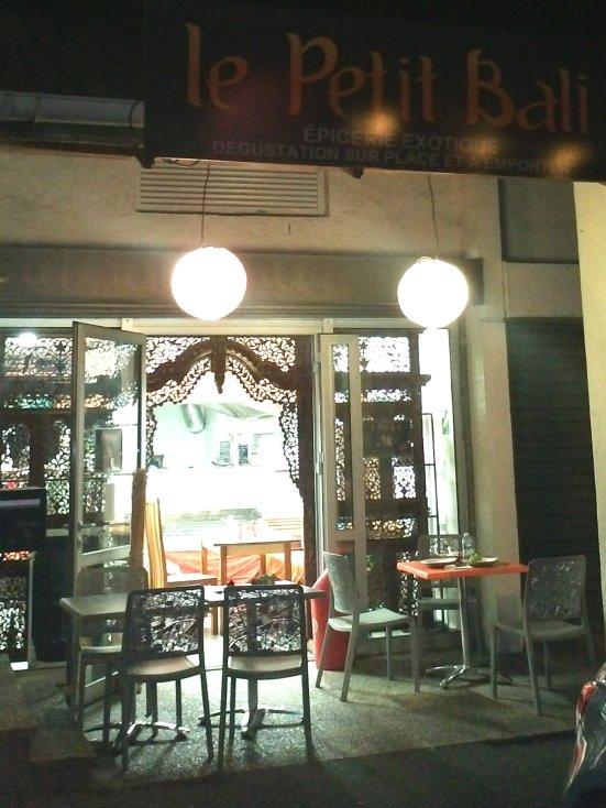 restaurant le petit bali epicerie exotique à Capbreton