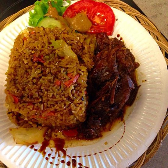 Semur daging - mijoté de bœuf restaurant le petit bali à capbreton