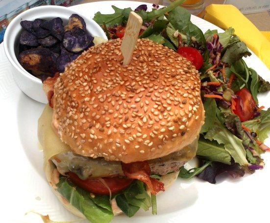 Le fameux burger gourmet