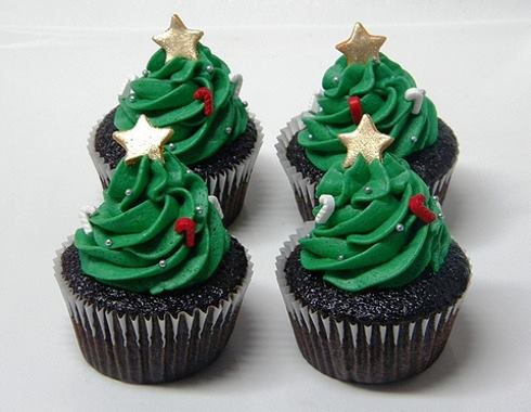 cupcake de noel made with love à capbreton