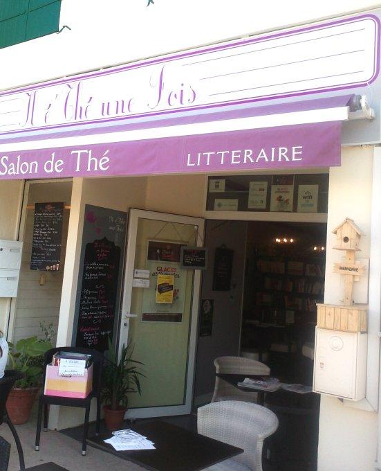l é thé une fois salon de thé litteraire à Capbreton