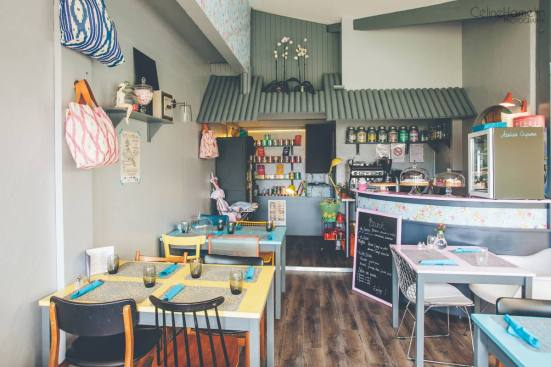interieur du salon de thé made with love à capbreton