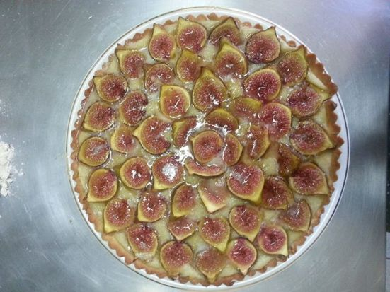 tarte amande et figue made with love