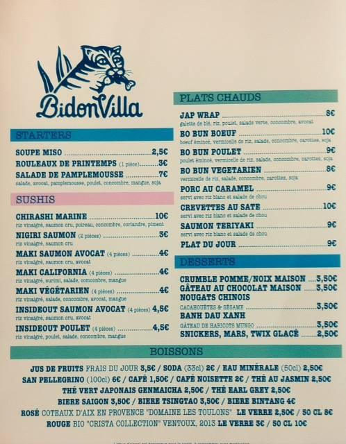 menu-restaurant-bidonvilla-hossegor