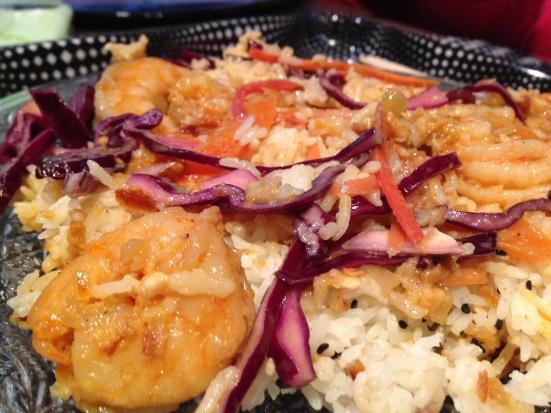 zoom-crevettes-au-sate-restaurant-emporter-bidonvilla-hossegor